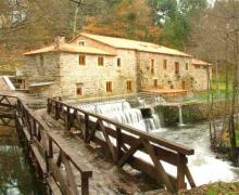 O Muiño de Pena casa rural en Arca (A Coruña)