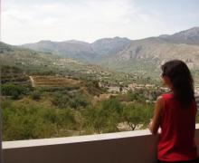 Apto. Serrella- RuralGuadalest casa rural en Benimantell (Alicante)