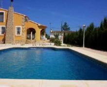 Casa Benibrai casa rural en Jalon (Alicante)