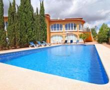 Villa Luisa casa rural en Calpe (Alicante)