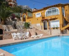Villa Merry casa rural en Calpe (Alicante)