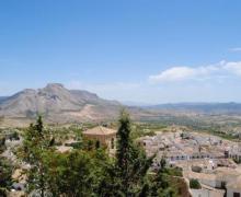 Camping Pinar del Rey casa rural en Velez Blanco (Almería)