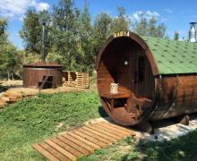 Les Cases casa rural en Sagas (Barcelona)
