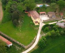 Can Guidic  casa rural en La Vall D´en Bas (Girona)