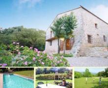 Mas El Bosqueró casa rural en Les Planes D´ Hostoles (Girona)