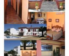 Hostal Rural Las Lomas casa rural en Calañas (Huelva)