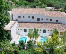 Apartamentos Turísticos Baños de Vilo casa rural en Periana (Málaga)