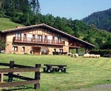 Lezamakoetxe casa rural en Sopuerta (Vizcaya)