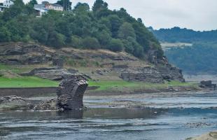 Pueblos ocultos bajo el agua