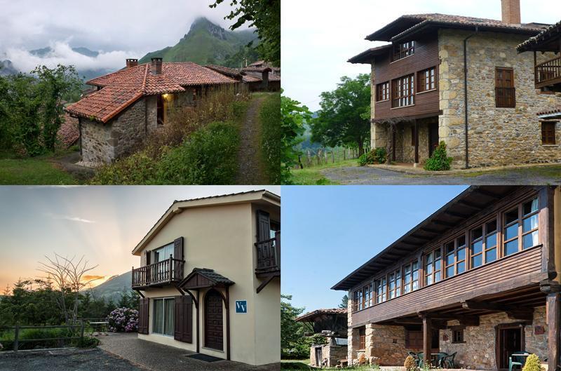 Casas rurales iris de paz casa rural en pilo a asturias for Casa rural con chimenea asturias