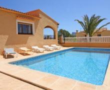 Villa Las Rocas casa rural en Calpe (Alicante)
