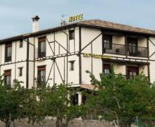 Hotel Doña Sancha casa rural en Covarrubias (Burgos)