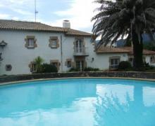 Can Cunill casa rural en Riudarenes (Girona)