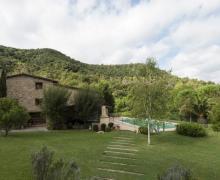 Can Pau casa rural en Porqueres (Girona)