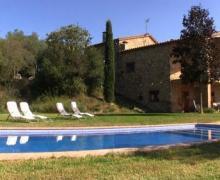 Can Sisó casa rural en Crespia (Girona)