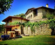 El Llober casa rural en Les Planes D´ Hostoles (Girona)