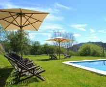 Mas Bernador casa rural en Les Llosses (Girona)