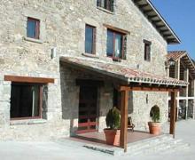 Mas Danyans casa rural en Les Llosses (Girona)