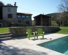 Mas El Pla casa rural en Santa Pau (Girona)