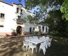 Masía Can Barcelo casa rural en Vilobi D´ Onyar (Girona)