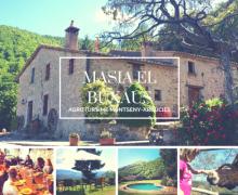 Masia El Buxaus casa rural en Arbucies (Girona)