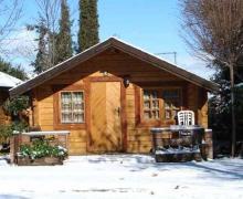 Camping Reina Isabel casa rural en La Zubia (Granada)
