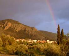 El Molino de Franchi casa rural en Nigüelas (Granada)