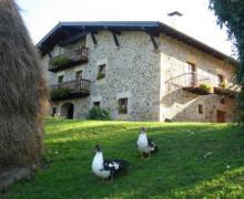 Oiharte casa rural en Zerain (Guipuzcoa)