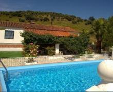 La Blanca  casa rural en Aroche (Huelva)