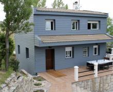 Los Picapiedra casa rural en La Cabrera (Madrid)