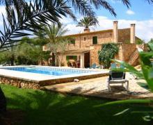 Agroturisme Son Barcelo Mas casa rural en Campos (Mallorca)