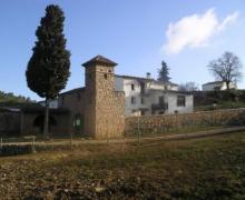 Can Casellas casa rural en Bellprat (Barcelona)