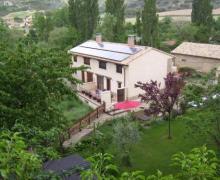 Apartamentos Las Lezas casa rural en Biel (Zaragoza)
