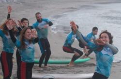 Escuela de Surf Las Dunas en Aviles (Asturias)
