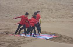 Escuela de Surf Baluverxa en Verdicio (Asturias)