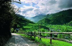 Llananzanes en Aller (Asturias)