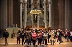 Catedral Sagrada Familia en Barcelona (Barcelona)