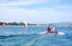 Arosa SurfCamp en A Cañiza (Pontevedra)