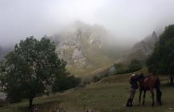 Aventuras a Caballo en Lamuño (Asturias)