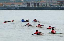 Escuela de Surf San Lorenzo en Gijon (Asturias)