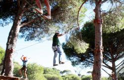 Indiana Parque Recreativo Natural en San Martin De Valdeiglesias (Madrid)
