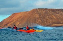 Kayak Fuerteventura en Corralejo (Fuerteventura)