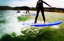 Pantín Surf Camp en Valdoviño (A Coruña)