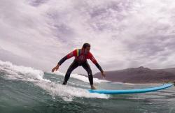 Procenter Santa Surf en Caleta De Famara (Lanzarote)