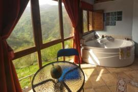 Jacuzzi y vistas espectaculares en Asturias