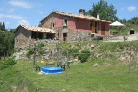 Mas El Vilar casa rural en Alpens (Barcelona)
