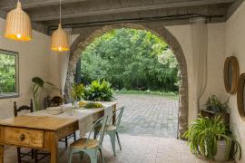 Can Bonet casa rural en Sant Marti Vell (Girona)