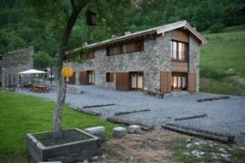Can Camps casa rural en Ogassa (Girona)