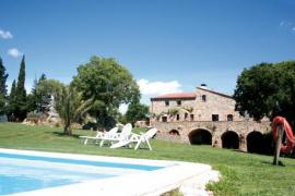Can Palau casa rural en Agullana (Girona)