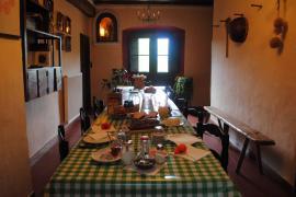 Can Riera casa rural en Joanettes (Girona)